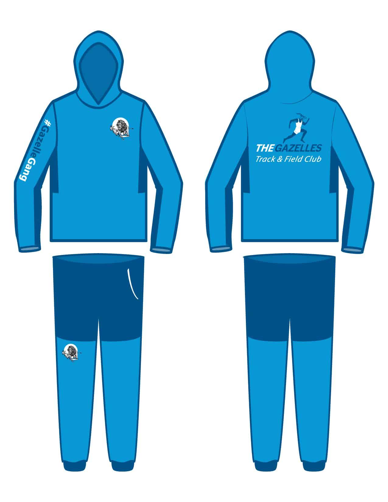 Gazelle Track & Field Suit