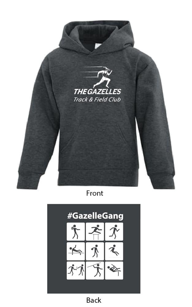 Gazelle Hoodie (Charcoal Grey)