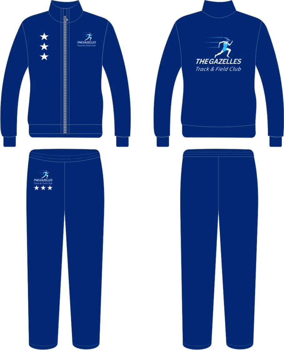 3 Star Track & Field Suit